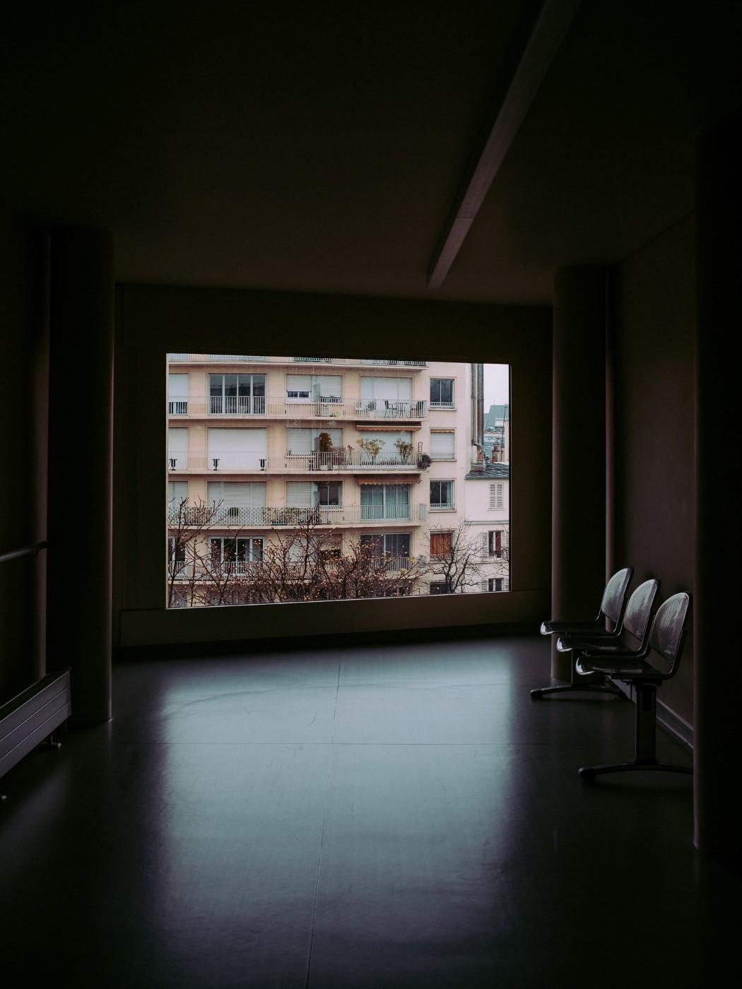 Couloir de l'hôpital