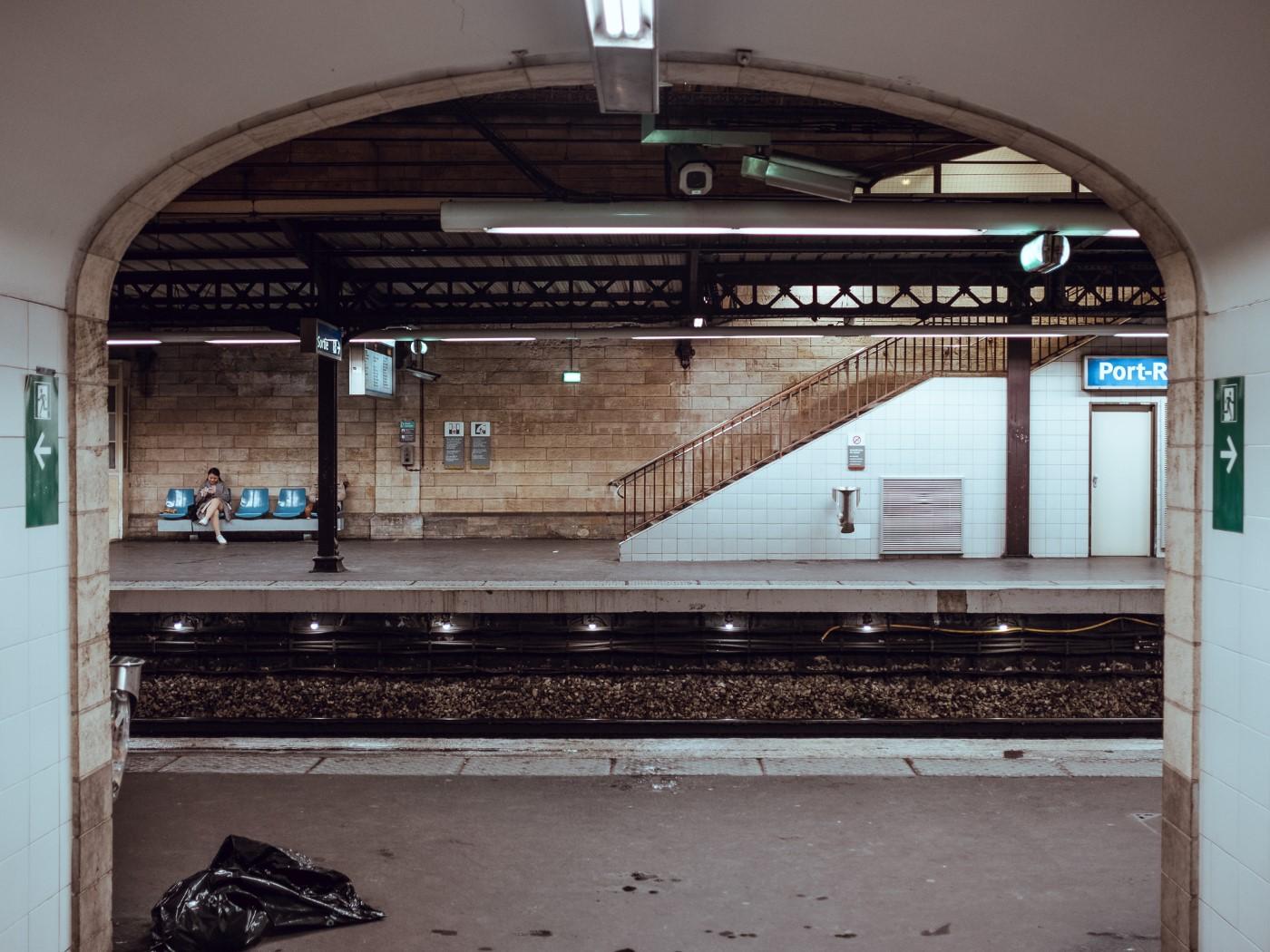 Station de RER Port Royal
