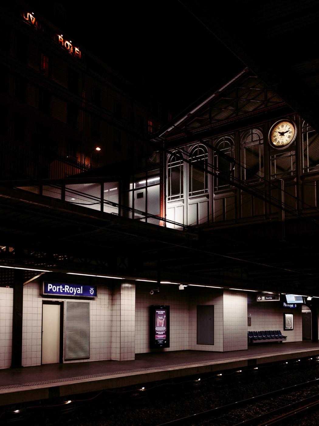 Station metro RER Port Royal